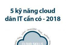 top 5 kĩ năng cloud dân it nên có 2018