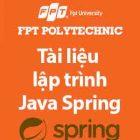 tài liệu lập trình java spring mvc fpt