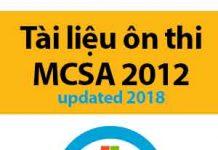 tài liệu ôn thi mcsa 2012 -updated 2018