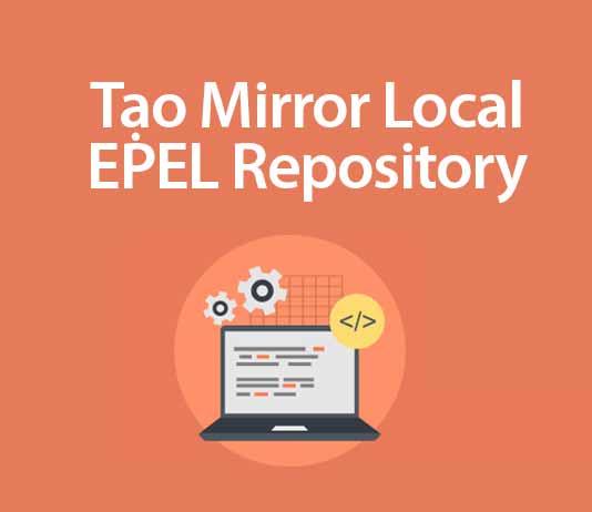 tạo mirror local epel repository