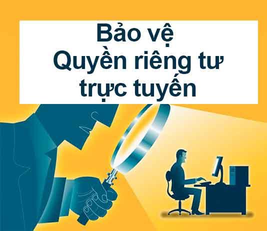 bảo về quyền riêng tư trực tuyến