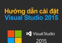 hướng dẫn cài đặt visual studio 2015