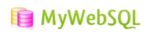 mywebsql logo