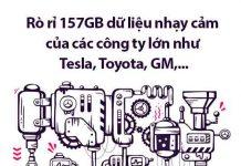 rò rỉ dữ liệu nhạy cảm công ty ô tô
