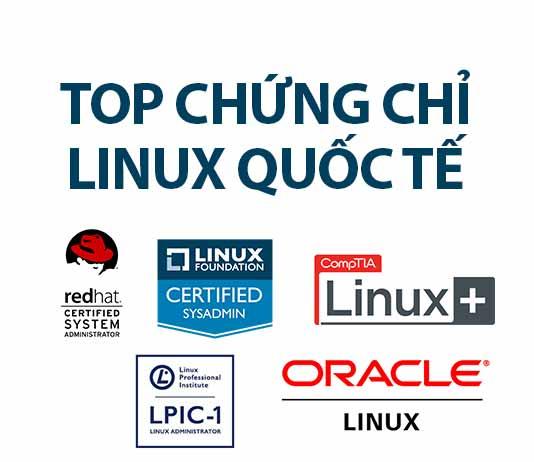 top chứng chỉ linux quốc tế