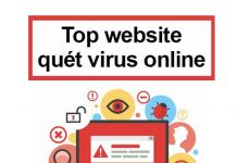 top website quét virus online