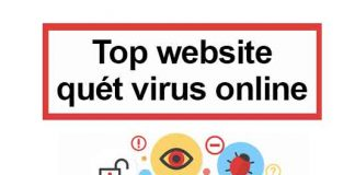 top website quét virus online