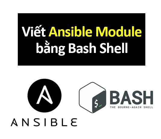 viết ansible module bằng bash shell