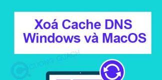 xoá cache dns trên windows và macos
