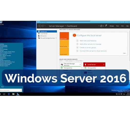 Hướng dẫn cài đặt Windows Server 2016 với hình ảnh chi tiết