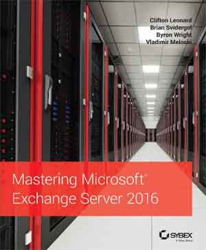 Ebook Mastering Microsoft Exchange Server 2016 (PDF)