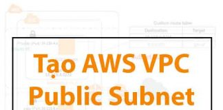 tao-aws-vpc-public-subnet-private-subnet