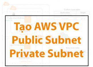 tao-aws-vpc-public-subnet-private-subnet